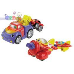 Zabawki Fisher Price dla najmłodzszych dzieci - warkoczące holowniki: samochód lub samolot...