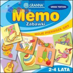 Moje pierwsze gry Granna – Memo zabawki – pamięć i koncentracja 2-4 lata...