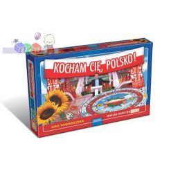 Rodzinna gra Kocham Cię, Polsko! firmy Granna znana z programu TV nawet dla 20 graczy, od 10 lat...