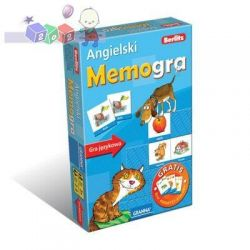 Angielski – MemoGra + druga gra w prezencie, Granna 3 lata+...