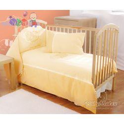 Pościel bawełniana do łóżeczka niemowlęcego  Owieczka 3 elementy Matex...