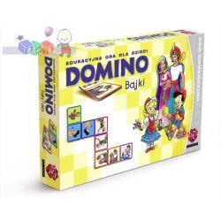 Znana i lubiana gra edukcyjna Domino dla dzieci 3-8 lat - obrazkowa i klasyczna...