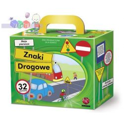 Gry edukacyjne dla dzieci Maxim - gra Znaki drogowe - wiek 4-9 lat...