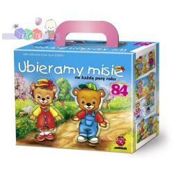 Maxim edukacyjna gra Ubieramy misie na każdą porę roku - wiek 3-6 lat...