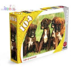 Puzzle Maxim Animals 104 elementy - psy...