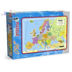 Edukacyjne puzzle Maxim 260 - mapa Europy...