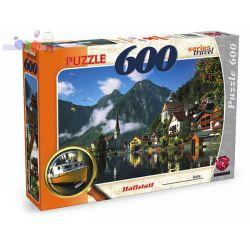 Zestaw puzzli 600 elementów - duże puzzle z postaciami z bajek Maxim...