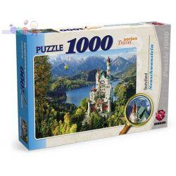 Wielki zestaw puzzli 1000 elementów - krajobrazy, pejzaże...