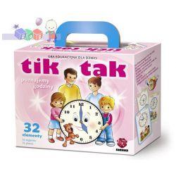 Gra edukacyjna Tik Tak - uczy pojęcia czasu i posługiwania się zegarem - 3-7 lat...