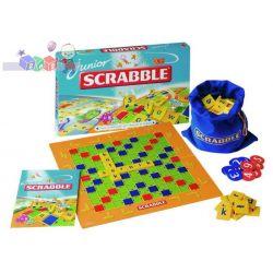 Dwie słowne gry Scrabble Junior Mattel 2 w 1...