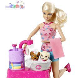 Barbie - pieski w kąpieli...