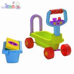 Jeździk pojemnik na zabawki 4 w 1 Taf Toys...