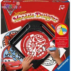 Mandala Designer Junior zestaw do rysowania dla dzieci od 4 lat - Ravensburger Auta 2 Cars...
