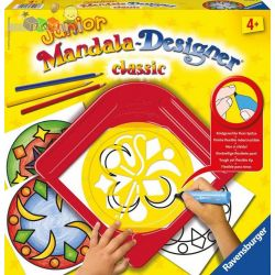 Mandala Designer Junior zestaw do rysowania dla dzieci od 4 lat - Ravensburger Klasyczne wzory...