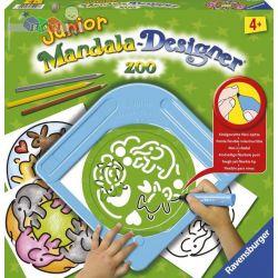Mandala Designer Junior zestaw do rysowania dla dzieci od 4 lat - Ravensburger Zoo...