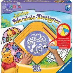 Mandala Designer Junior zestaw do rysowania dla dzieci od 4 lat - Ravensburger Kubuś Puchatek...