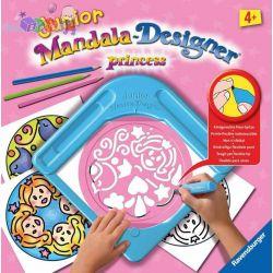 Mandala Designer Junior zestaw do rysowania dla dzieci od 4 lat - Ravensburger Princess...