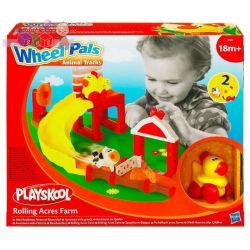 Wheel Pals Playskool Farma - tor i 2 zwierzaki na kółkach 18m+ Hasbro...