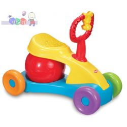 Super zabawa Playskool skuter z dmuchaną piłką pod siedzeniem...