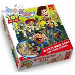 Przestrzenna gra planszowa Trefl - Toy Story 3 w przyjaźni siła! 4+...