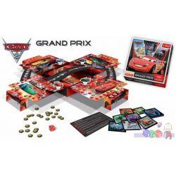 Super gra Cars 2 Grand Prix z przestrzenną planszą i bohaterami z bajki Auta 2...