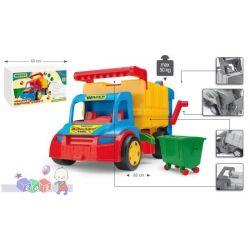 Pojazd dla dzieci duża śmieciarka zabawki Wader...