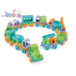 Małe autka Friends on move Wader 54050 - różne rodzaje...