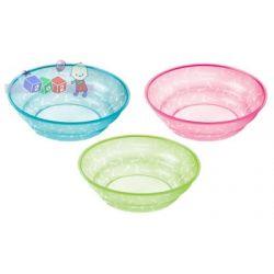 Zestaw 3 misek Tommee Tippee Essentials 6m+ Basic Bowls...