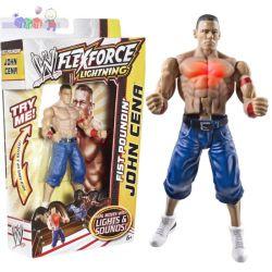 Świecące figurki zapaśników WWE Flexforce z diodami LED...