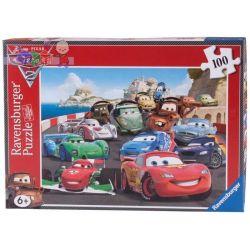 Super puzzle Ravensburger 100 elementów Auta 2 - super wyścig...