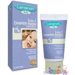 Diaper Rash - krem na odparzenia na bazie lanoliny Lansinoh...