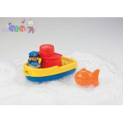 Pływający stateczek - zabawka do kąpieli Fisher Price...