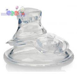 Wymienny ustnik silikonowy niekapek do butelek z szeroką szyjką Nuby...