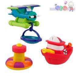 Zabawki do kąpieli Sassy - zestaw małego ratownika...