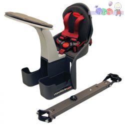 Bezpieczne krzesełko rowerowe Kangaroo Carrier...