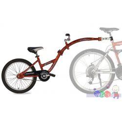 """Doczepiany rower - aluminiowa przyczepka do roweru Pro-Pilot Weeride koło 20""""..."""