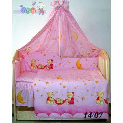 Bawełniana pościel do łóżeczka dziecięcego 120 x 60...