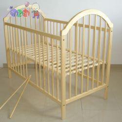 Drewniane łóżeczko dziecięce atestowany lakier Tomi II...