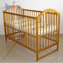 Łóżeczko dla dziecka z drewna Tomi III...