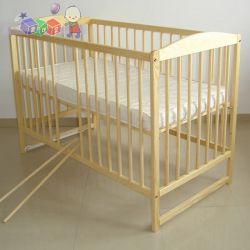 Drewniane łóżeczka dziecięce z wyjmowanymi szczeblami Tomi V...