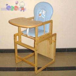 Krzesełko do karmienia rozkładane stolik + krzesełko Konrad 4 sosna...