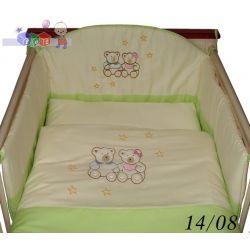 Pościel do łóżeczka dziecięcego 135 x 100 Tomi...