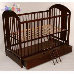 Drewniane łóżeczko dziecięce z szufladą Tomi XIII...