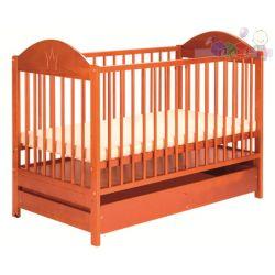 Drewniane łóżeczka dla dzieci Klupś Ewelina II z szufladą...