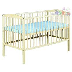 Łóżeczko drewniane dla dzieci 120x60 Radek II Klupś...