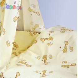 Czteroelementowa pościel dla dziecka z bawełny C4 Klupś...