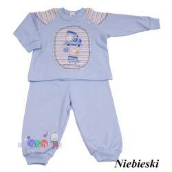 Wygodna dwuczęściowa dziecięca piżamka bawełniana z aplikacją Szwat rozm 80...