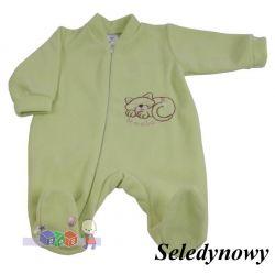 Milutkie pajacyki niemowlęce z polaru Szwat rozm 74...