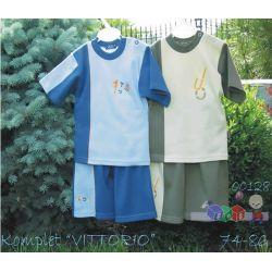 Letni komplet dla chłopców spodenki + bluzka Sofija...