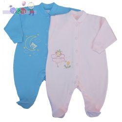 pajacyk do spania z bawełny w pastelowych kolorach rozmiar 92 Sofija...